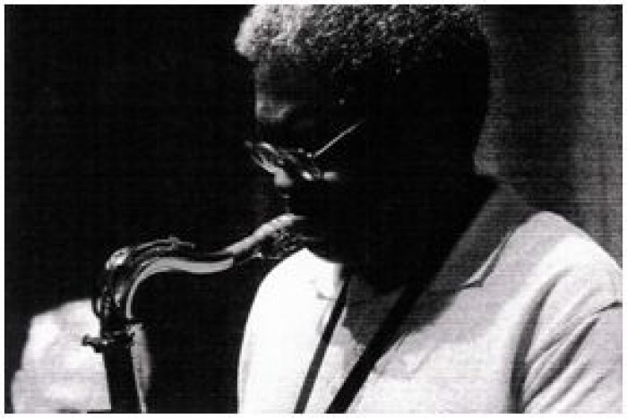 Al Waters on saxophone